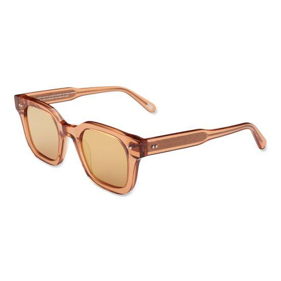 Chimi Eyewear #004-Peach/Mirror