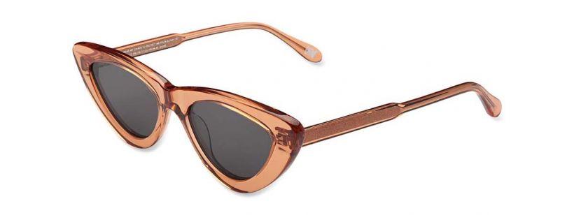Chimi Eyewear #006-Peach/Black