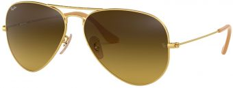 Ray-Ban Aviator Large Metal Gradient RB3025-112/85-58
