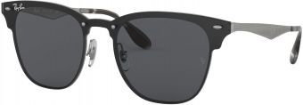 Ray-Ban Blaze Clubmaster Flat Lenses RB3576N-042/87-47