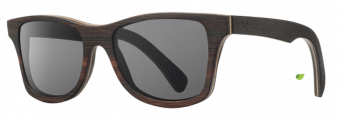 Shwood Canby (Select): East Indian Rosewood - Grey Polarized