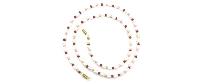 Boho Beach Sunny Necklace - Sunny Necklace Pearls