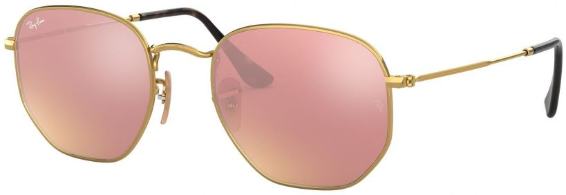 Ray-Ban Hexagonal Flat Lenses RB3548N-001/Z2